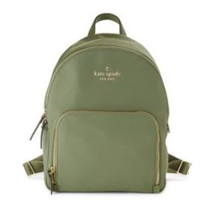 NWT KATE SPADE Watson Lane Small Olive Backpack